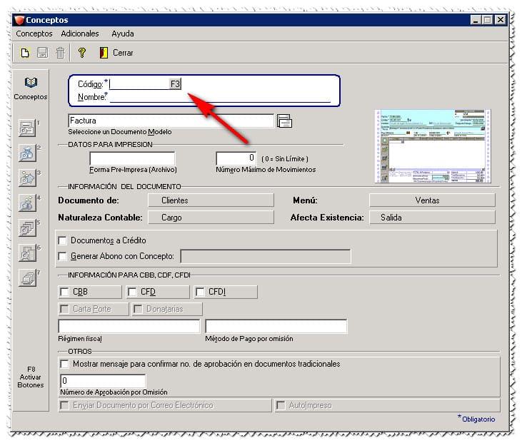 2 Actualizar Certificado Vencido En AdminPAQ Buscar Concepto