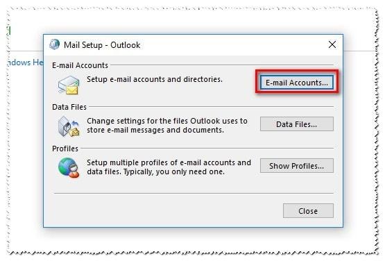 2 Deshabilitar Modo De Intercambio Cache En Outlook Cuentas De Correo