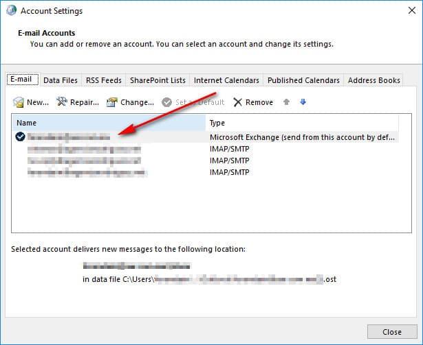 3 Deshabilitar Modo De Intercambio Cache En Outlook Configuracion De Cuentas