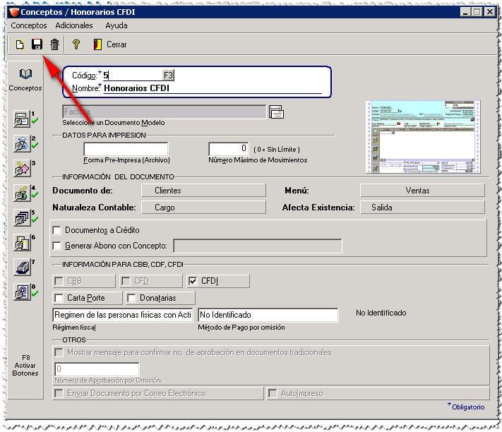 9 Actualizar Certificado Vencido En AdminPAQ Guardar Cambios