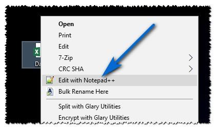 3 Crear Query SQL Con El Excel (CSV) Abrir CSV Con Editor De Texto