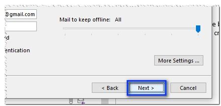 9 Configurar Correo Gmail En Outlook Siguiente