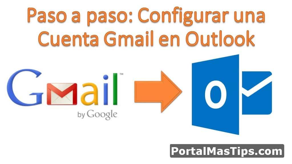Logo Configurar Una Cuenta Gmail En Outlook