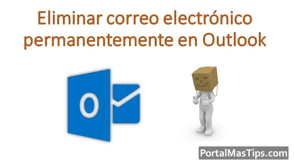 Logo Eliminar Correo Electronico Permanentemente