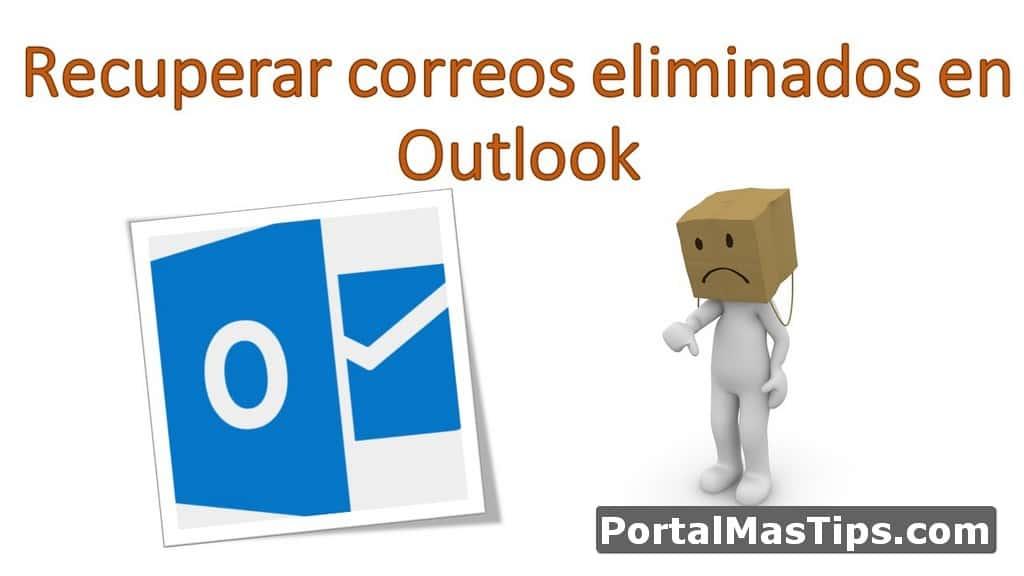Logo Recuperar Correos Eliminados En Outlook