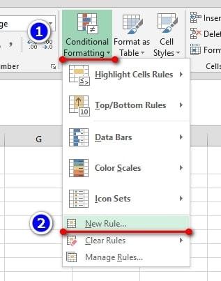 Crear Una Regla De Formato Personalizada Nueva Regla A