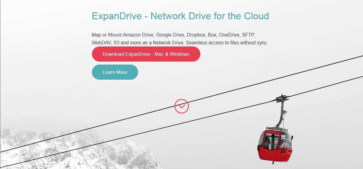 ExpanDrive - Mapear unidad de almacenamiento en la nube 5
