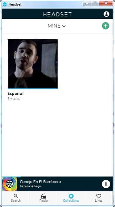 Reseña de Headser reproductor gratuito de youtube sin publicidad - Coleccion