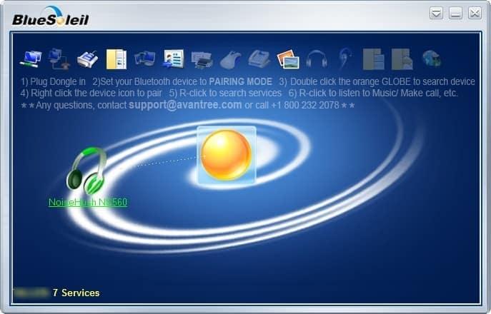 BlueSoleil - Adaptador Bluetooth Software