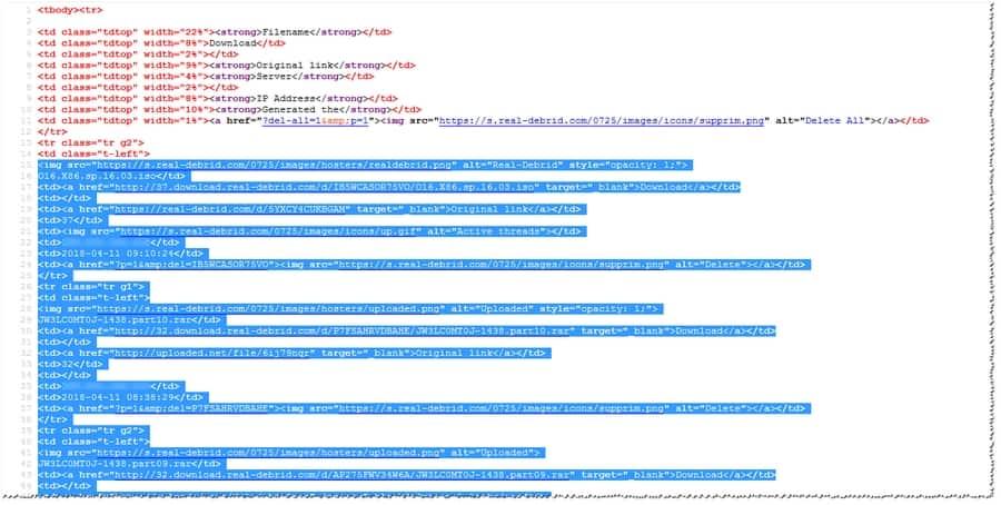 Codigo fuente de sitio Web ejemplo