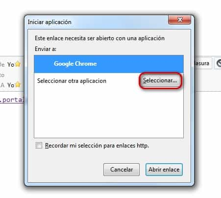 Cambiar el navegador predeterminado en Thunderbird 5