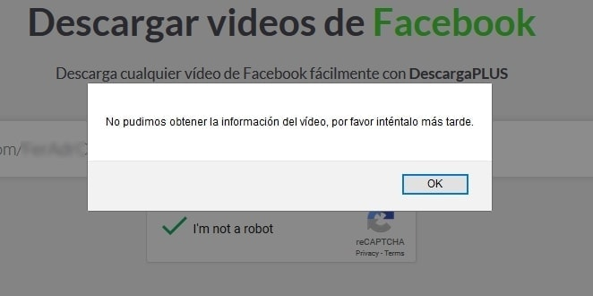 Mensaje descargaplus video privado