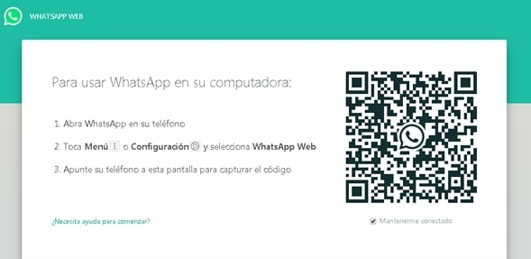 Espiar Whatsapp - Captura Web