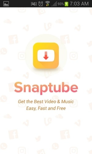 Snaptube - Introduccion