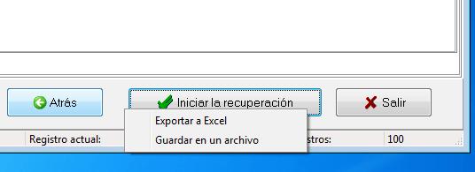 Herramienta de restauración de Microsoft Excel 11