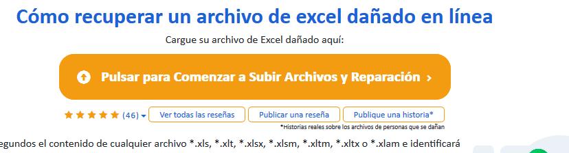Online File Repair - herramienta en linea para reparar archivos