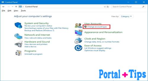 Cómo cambiar el nombre de usuario en windows 10 mediante el Panel de control Pasos 1 y 2