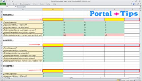 Como Fijar una Fila en Excel a Nivel Superior