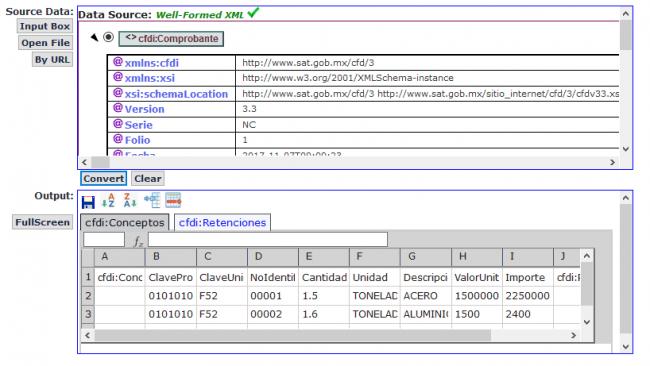 programa para convertir xml a excel gratis