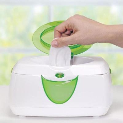Calentador de toallitas humedas marca Munchkin Warm Glow