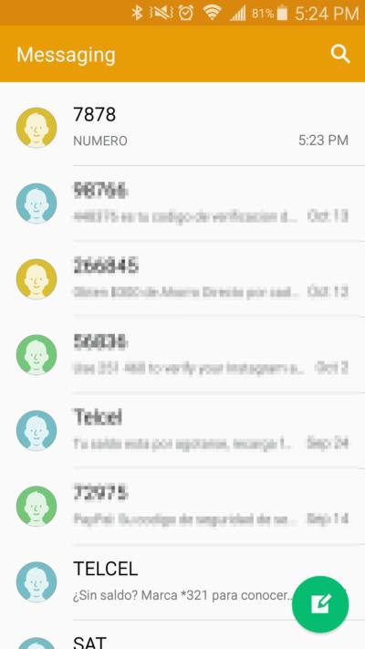 Recuperar numero Telcel enviando mensaje al 7878